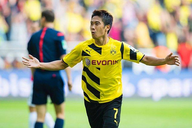 2 sezon sonra tekrar Dortmund'a dönen Kagawa, bu sezon sadece 5 maçta görev aldı.