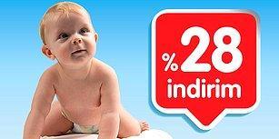 Bebeğinize Aldığınız Her Bebek Ürününün %28 Daha Ucuz Halini Bulduk