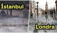 Listede İstanbul da Var! Hava Kirliliği Gözle Görülür Olsaydı Büyük Şehirler Nasıl Görünürdü Biliyor musunuz?