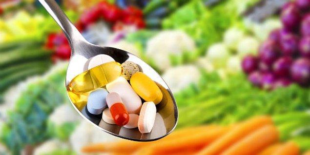 Vücudunuzdaki düşük besin değerleri dopamin üretimini engelliyor olabilir, ek gıdalar (suplement) kullanabilirsiniz!