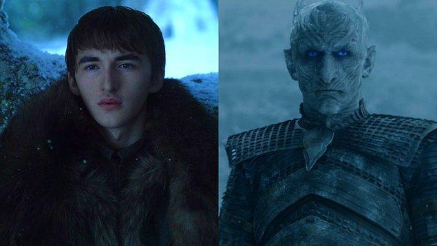 Geçmişi etkileyebilme, zamanda yolculuk ve canlıların kontrolü gibi özellikler bir araya gelince Bran, 8. sezonun en güçlü silahı olabilir.