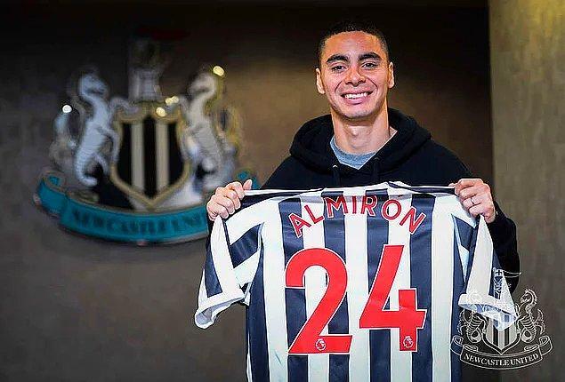 6. Miguel Almirón: 24 Milyon Euro (Atlanta United ➡ Newcastle United)