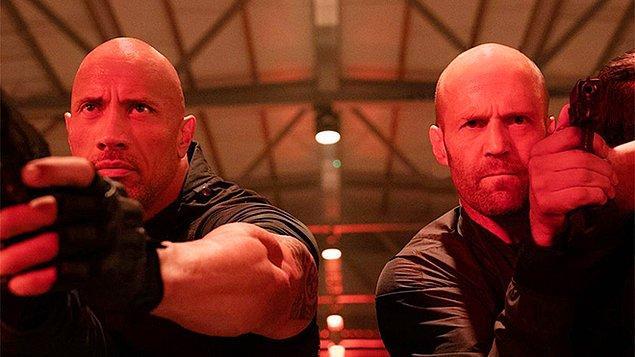 Dwayne Johnson ve Hollywood'un sert adamı Jason Statham başrolde!