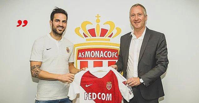 17. Fabregas: 11 Milyon Euro (Chelsea ➡ Monaco)