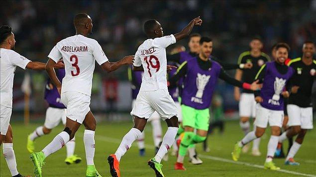 83. dakikada kazandığı penaltıyı Akram Afif'in ayağından gole çeviren Katar, finali 3-1 kazanarak ilk kez şampiyon oldu.