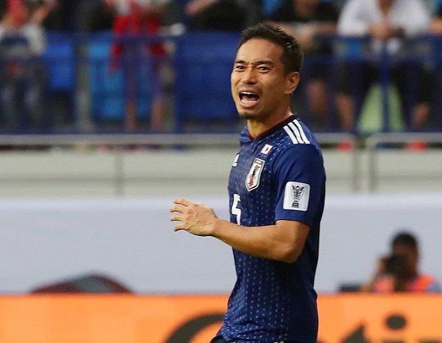 Japonya milli futbol takımının formasını giyen Galatasaraylı Yuto Nagatomo, 90 dakika sahada kaldı.