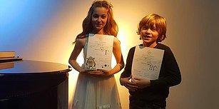 Müzisyen Kardeşler Gururlandırmaya Devam Ediyor: Mozart Yarışması'ndan Birincilik ve Üçüncülükle Döndüler