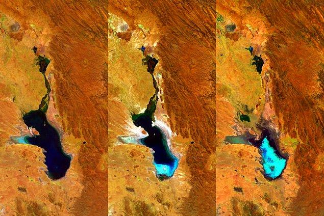 7. Poopó Gölü / Bolivya