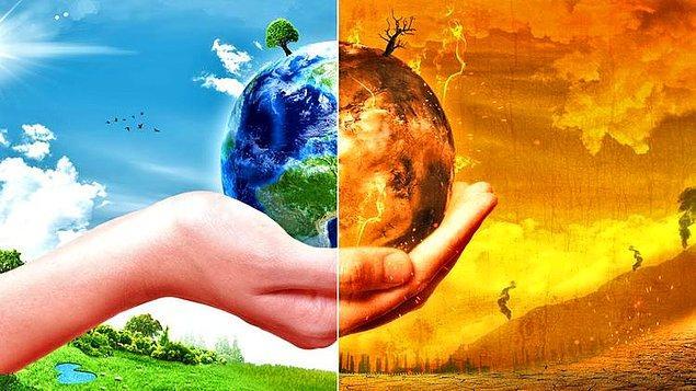 10. Küresel ısınmada hangisi daha büyük ve etkili bir tehlikedir?