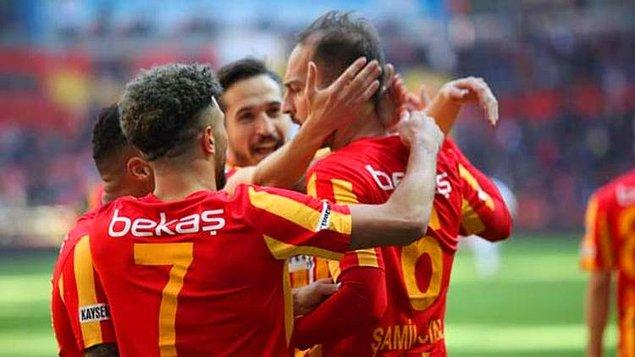 Kayserispor'un transfer yasağı bulunuyor.