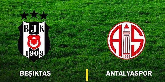 Süper Lig'de 20.hafta maçında Beşiktaş deplasmanda Antalyaspor ile karşı karşıya geliyor.