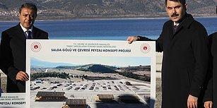 Bakan Kurum'dan 'Salda' Açıklaması: 'Göl Kıyısında Hiçbir Şekilde Yapılaşmaya İzin Vermeyeceğiz'