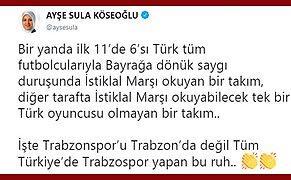Eski Milletvekili Köseoğlu'ndan Galatasaray'a 'Yerli Futbolcu' Çıkışı: 'İstiklal Marşı Okuyacak Oyuncusu Yok'