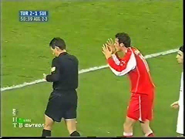 2006: FIFA Disiplin Kurulu, Türkiye-İsviçre müsabakasında meydana gelen olumsuz olaylar sebebiyle, Türkiye millî futbol takımına 6 maç seyircisiz oynama ve para cezası verdi.