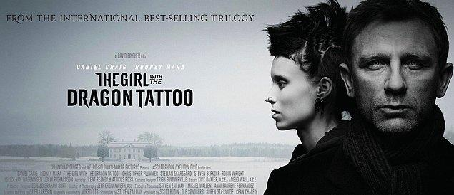 7. The Girl with the Dragon Tattoo - IMDb Puanı: 7.8