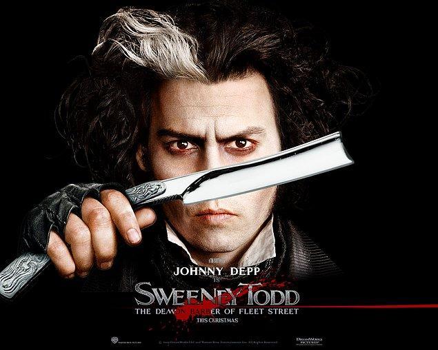 14. Sweeney Todd: The Demon Barber of Fleet Street - IMDb Puanı: 7.4