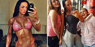 Eşinden Ayrıldıktan Sonra Spor Yapmaya Başlayıp Vücut Geliştirme Şampiyonu Olan 3 Çocuk Annesi Kadın