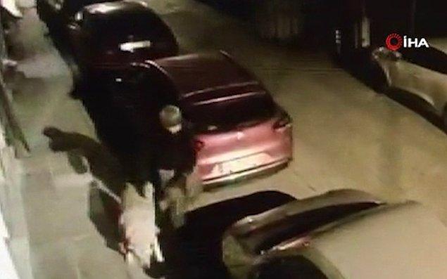 Bir kağıt toplayıcı, bir sokak köpeğine tecavüz etti.