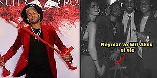Futbolcu Neymar'la El Ele Fotoğraf Paylaşan Elif Aksu Sosyal Medyada Bomba Etkisi Yarattı!