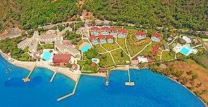 Marmaris'in Popüler Tatil Bölgesi Hisarönü'nde Mavi ve Yeşilin Buluştuğu Doğa Harikasında Ailece Tatil Keyfi!
