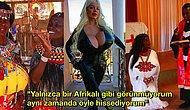 """""""Bebeklerim de Siyah Doğacak!"""" Afrika'da Kendini Evinde Gibi Hissettiği İçin Oraya Taşınmaya Karar Veren Bronzlaşma Bağımlısı Kadın"""