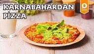Hem Pizza Yiyeyim Hem De Kilo Almayayım Diyenlere Müjde! Karnabahardan Pizza Nasıl Yapılır?