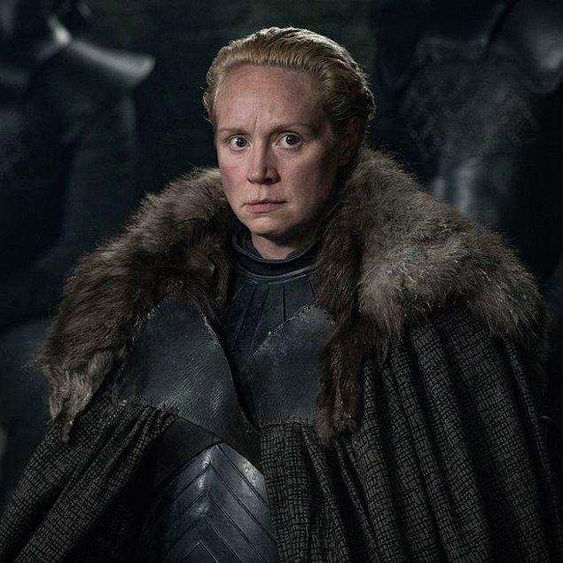 Brienne of Tath karakteri ile Gwendoline Christie,