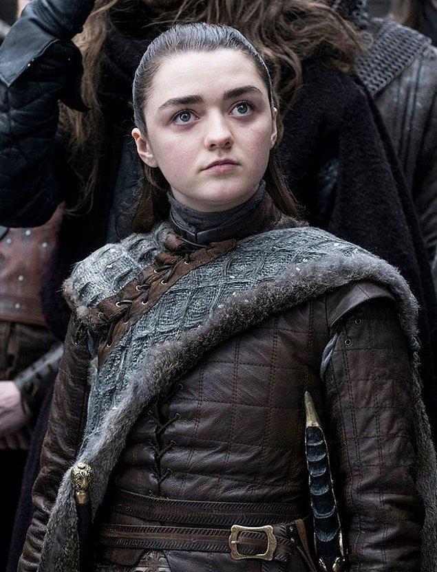 21 yaşındaki Maisie Williams ise Arya Stark karakteri ile geri dönüyor.
