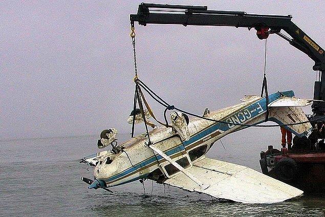 3 Şubat'ta uçağın enkazının yeri tespit edilmiş ve içindeki cesedin çıkarılması için çalışmalara başlanmıştı.