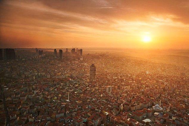 Güvenlik ve hayat pahalılığı gibi kriterlerin rol oynadığı kategoride 35. sırada yer alan İstanbul en kötü puanı çevre kategorisinde aldı.