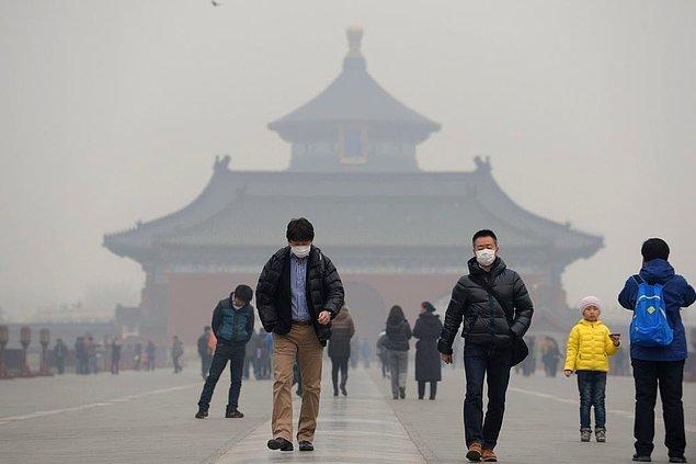 Çin'in Pekin ve Şangay kentleri, çevre alanında son sıralarda