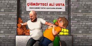 Meşhur Çiğ Köfteci Ali Usta'nın Aşırı Rahatsız Edici Animasyon Versiyonu!