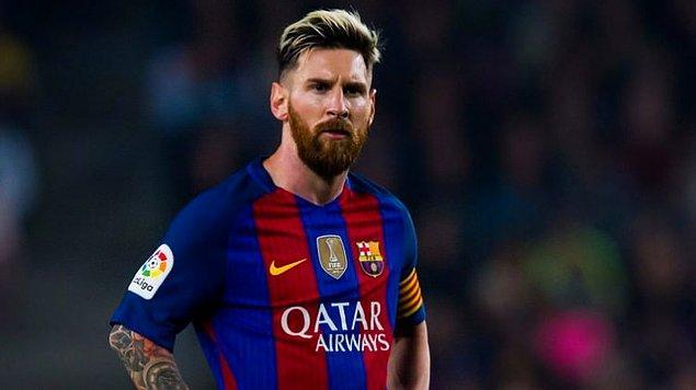 1. Messi | Aylık: 8.3 milyon euro