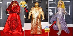 Dünden Bugüne Grammy Kırmızı Halısında Skandal Yaratan Gelmiş Geçmiş En Sansasyonel Kıyafetler