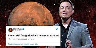 Sosyal Medyanın Diline Düşen Aşk: Elon Musk ve Mars Gezegeninin Twitter Üzerindeki Ateşli Sohbeti