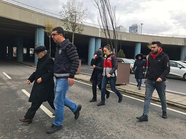 Şüpheliler, Emniyet'teki işlemlerinin ardından sağlık kontrolüne, ardından Anadolu Adalet Sarayı'na götürüldü.