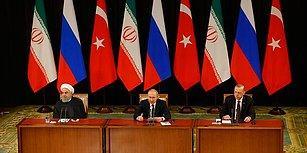 'Suriye' Konulu Türkiye-Rusya-İran Üçlü Zirvesi: İşte Liderlerin Açıklamalarından Öne Çıkanlar