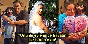 """""""Hayatımın Aşkı"""" Dediği Zombi Oyuncak Bebek ile Evlenip Mutlu Mesut Yaşayan Kadın"""