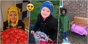 Büyümüş de Küçülmüş! Para Biriktirip Okulundaki Bütün Kızlara Sevgililer Gününde Çiçek Alan 8 Yaşındaki Çocuk