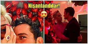 Çalkantılı Giden Aşk Hayatlarından Sonra Katy Perry ve Orlando Bloom Sevgililer Günü'nde Nişanlandı!