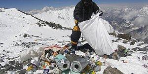 Zirve Çöplüğe Dönünce Çin 'Dur' Dedi: Everest Dağı Turistlere Kapatıldı