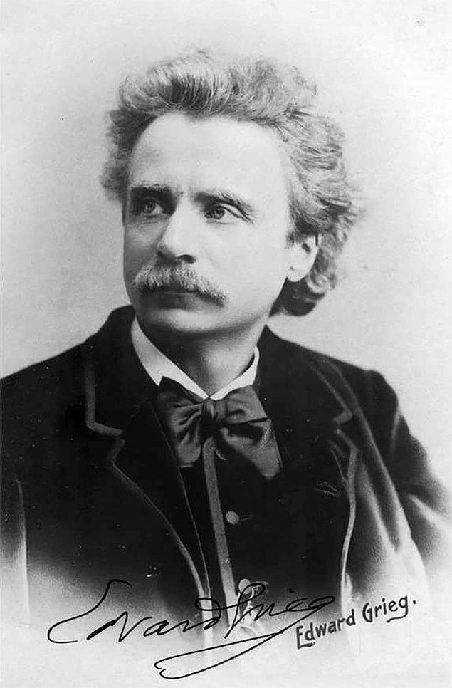 6. Edvard Grieg ve uğurlu kurbağası