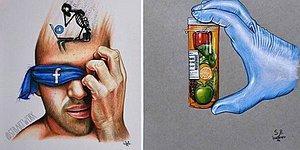 Çizimlerinde Sosyal Medyanın Hayatımızdaki Yerini Çarpıcı Şekilde Gözler Önüne Seren İllüstratör