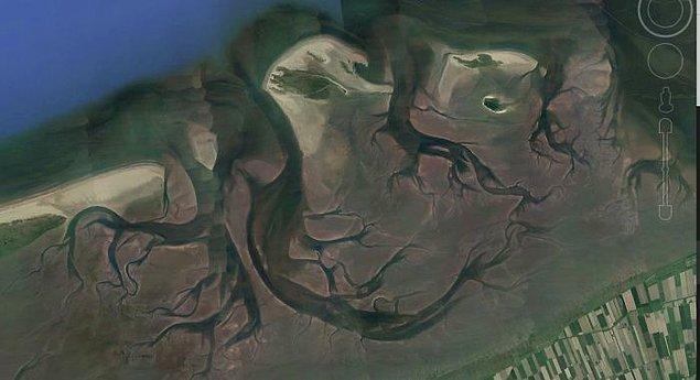 """5. """"Durgun Wadden Denizi. Bu ürkütücü."""""""