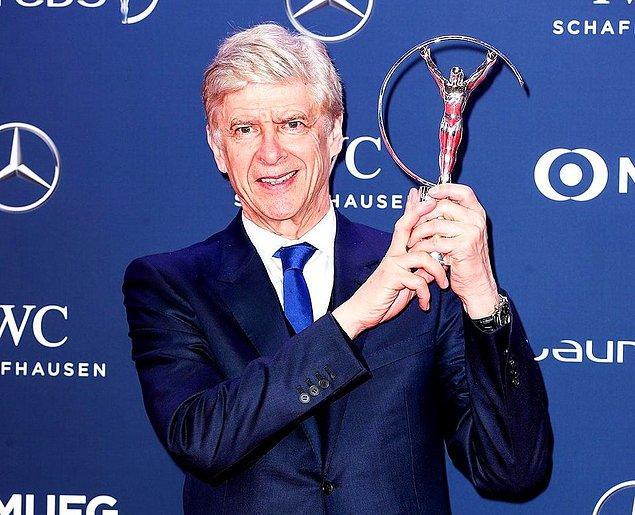 Yaşam Boyu Başarı Ödülü: Arsene Wenger