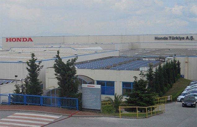 Şekerpınar´da bulunan fabrika, Honda'nın Avrupa'daki ikinci otomobil üretim tesisi konumunda.