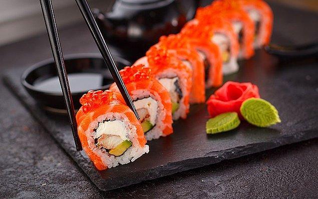 8. Sushi sever misin?