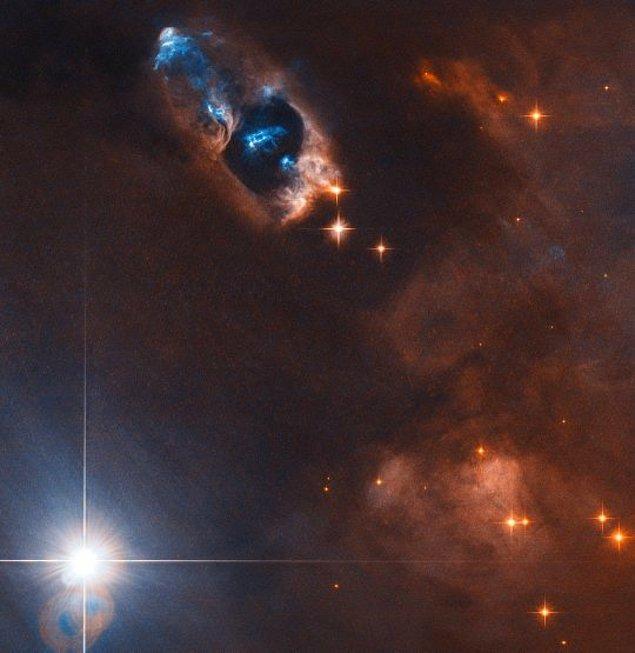 Uzaydaki teleskop, bir yıldızın doğuş anını yakaladı.