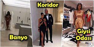 Kim Kardashian ve Kanye West'in Korku Filmlerini Aratmayan 50 Milyon Dolar Değerindeki Evleri!