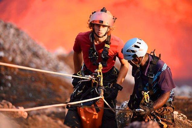 Üç yanardağın üçü de aktif olsa da, Benbow 2013'ten beri hiç patlamadı.